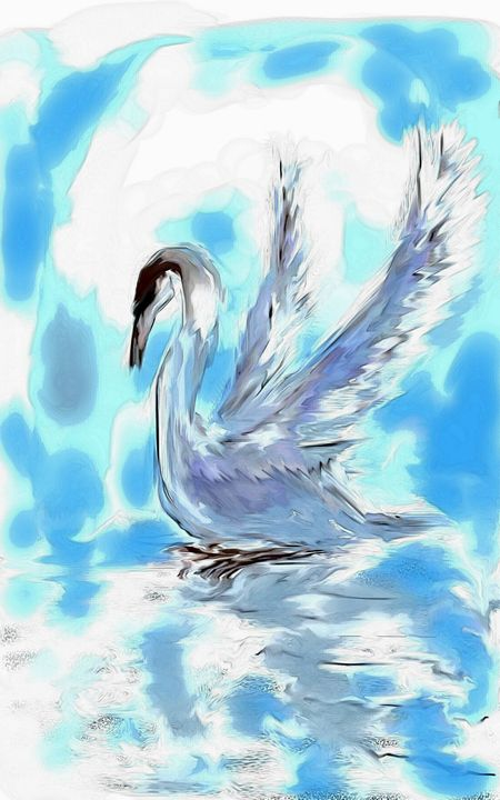 swan water - Mahmoud reza hashemi