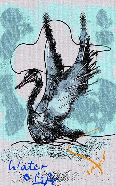 swan water life - Mahmoud reza hashemi