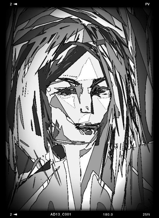 woman at night - Mahmoud reza hashemi