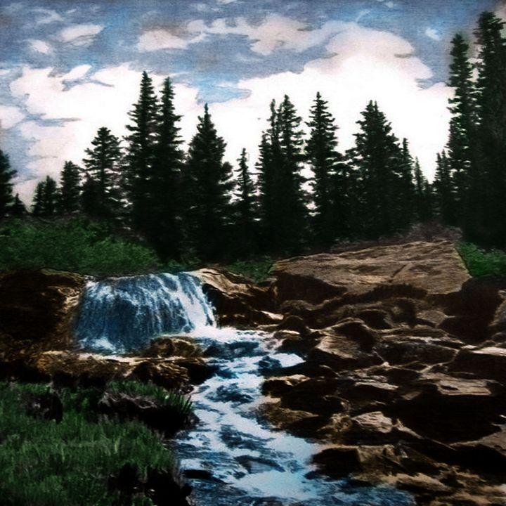 Water hole - Curtez Creativity