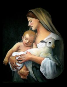 Madonna & Child, After Bougereau