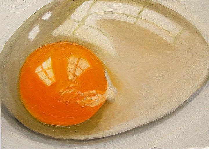 Raw Egg Painting - Joyce's Art