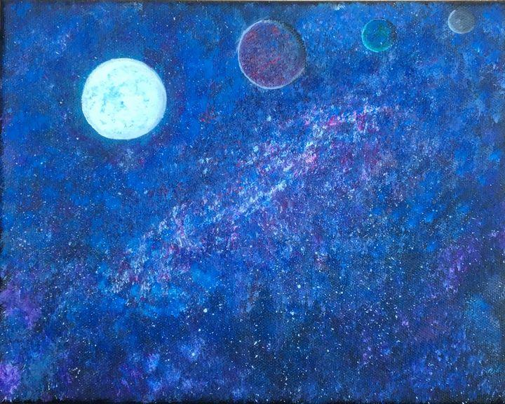 Far off galaxy - Rosebud's Custom Art