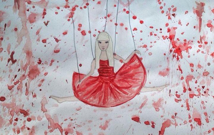 ballerine red - Art