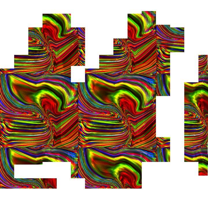 Block cats - B.Huntsman Designs