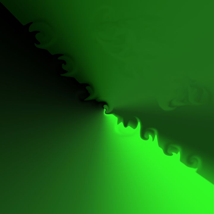 wave of green - B.Huntsman Designs