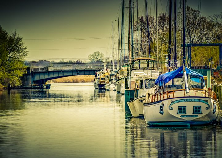 Delaware City Docks - Joe Campbell's Photo Art Gallery