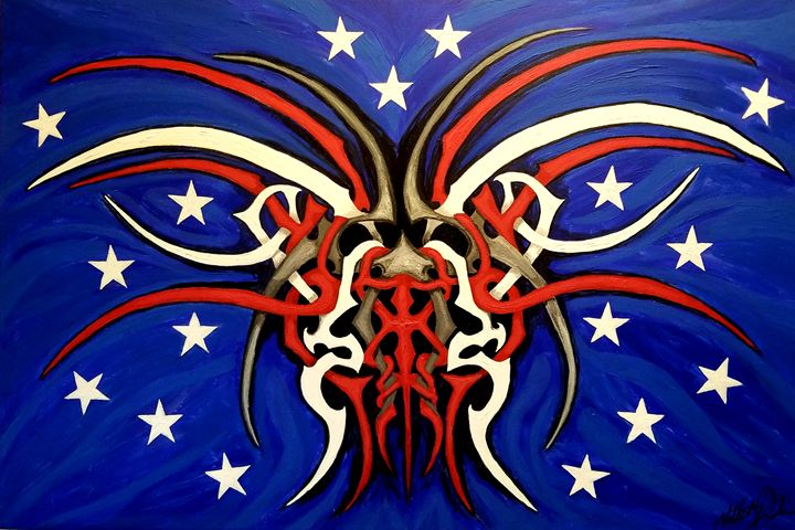 Red, White, and Awesome - Twisted American Creations