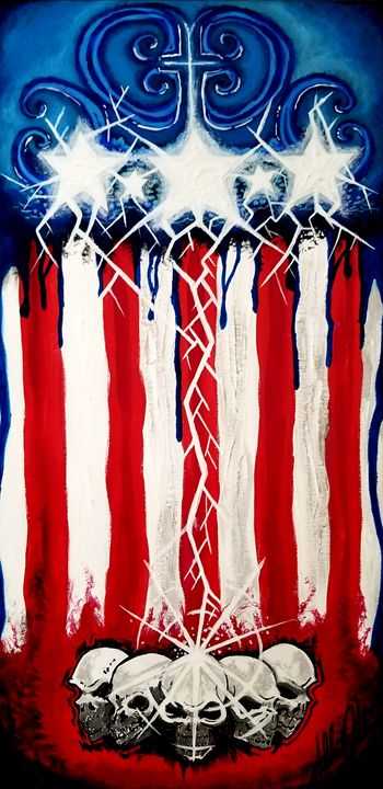 Blood, lightning, and turmoil - Twisted American Creations