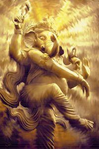 Dancing Ganapti