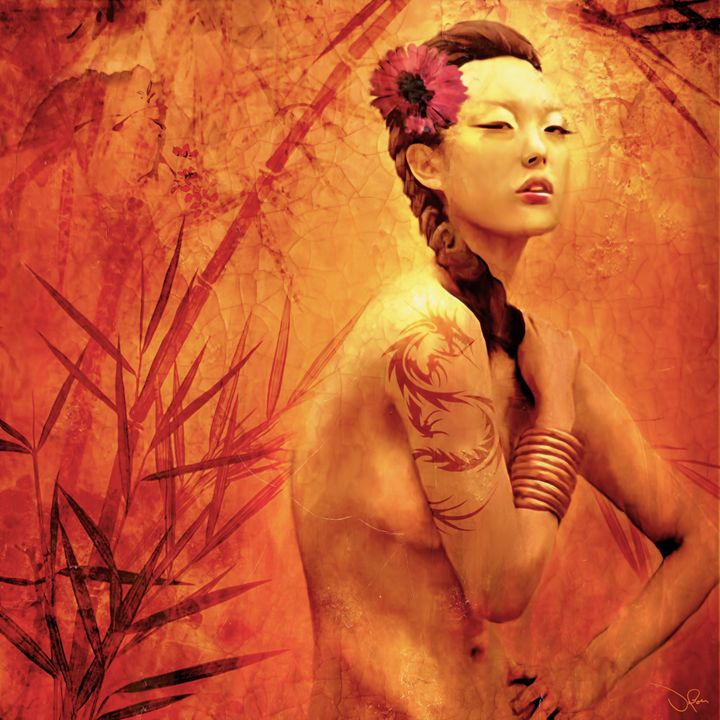 Bathing Geisha - de Boer Gallery