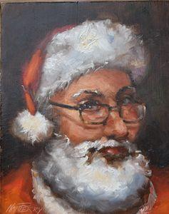 Santa, Up Close and Personal