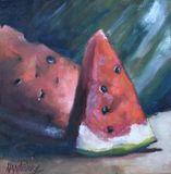 original of melon slices