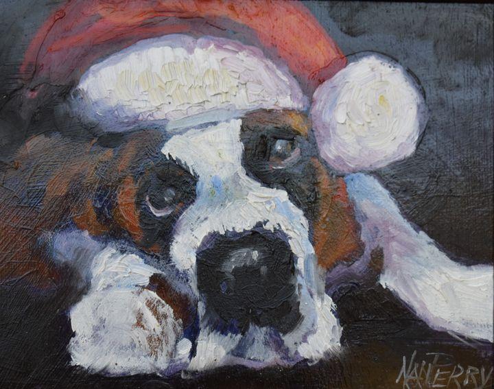 I  Just Love Christmas - NanPerryArt