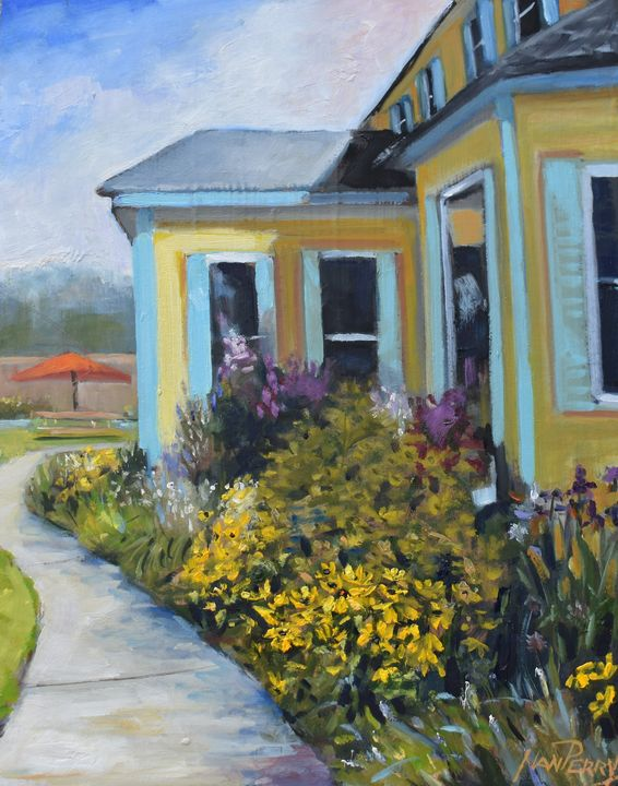 Around the House - NanPerryArt