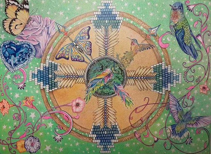 Traceys Vision - Rockin Native Art