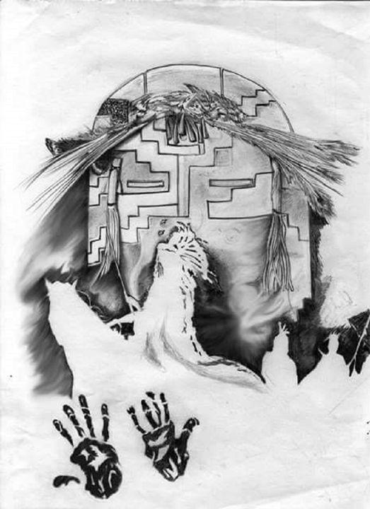 Yei Bi Chei - Rockin Native Art