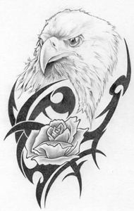 Rose Eagle - Rockin Native Art