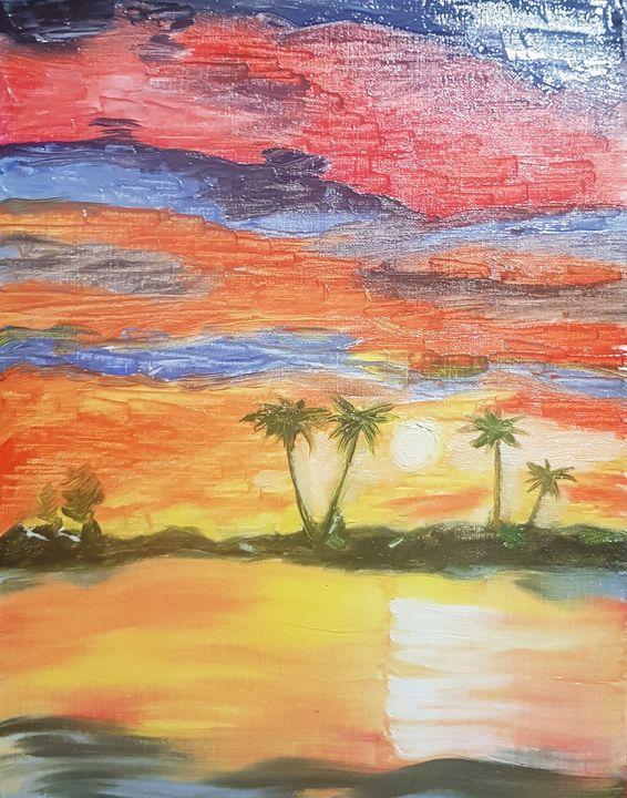 Miami sunset - Ulrik Magaña