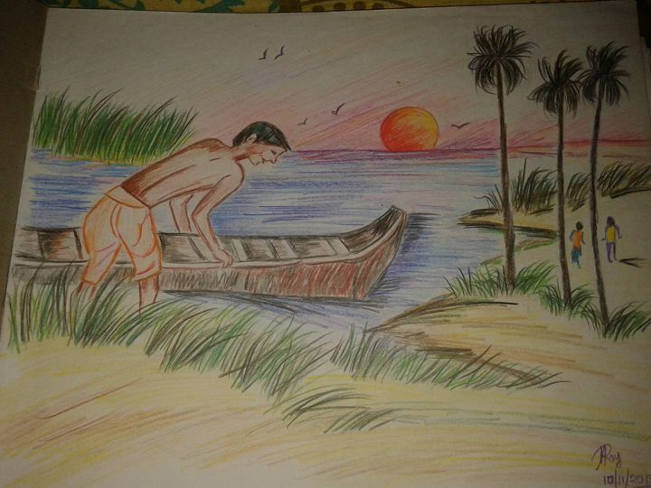 Fisherman - Artistic Angel