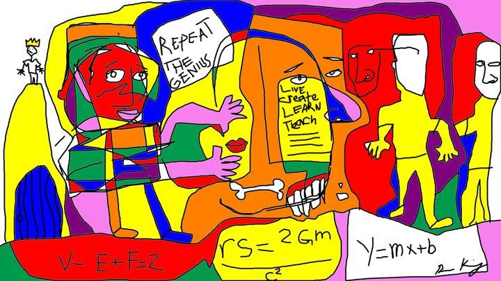 live learn create teach - ron king art gallery