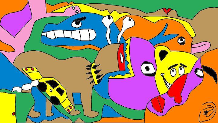 childhood - ron king art gallery