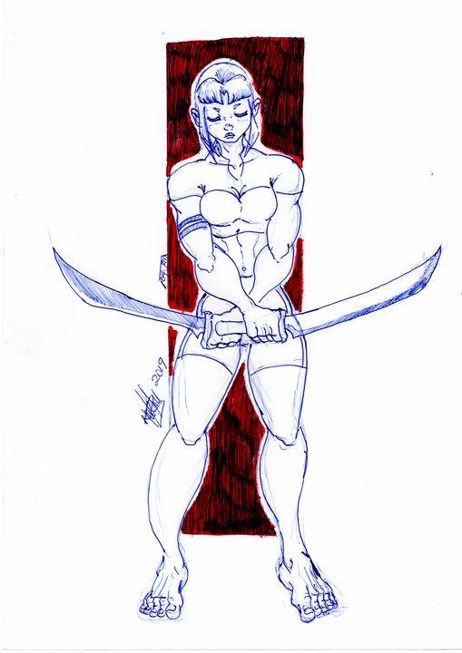 Sword mistress - Nproduction103