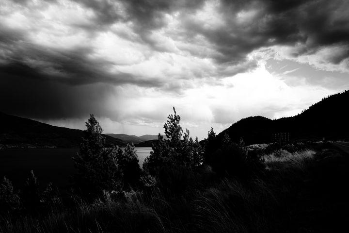 Skaha Lake Contrasted - Christine Solomon
