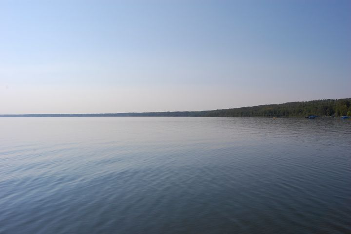 Lake Wabamun in color - Christine Solomon