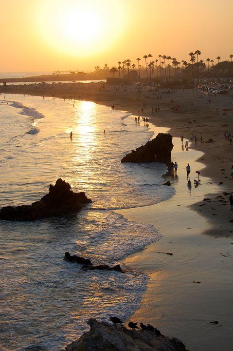 Laguna Sunset - Christine Solomon
