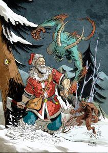 St. Nicholas vs Krampus