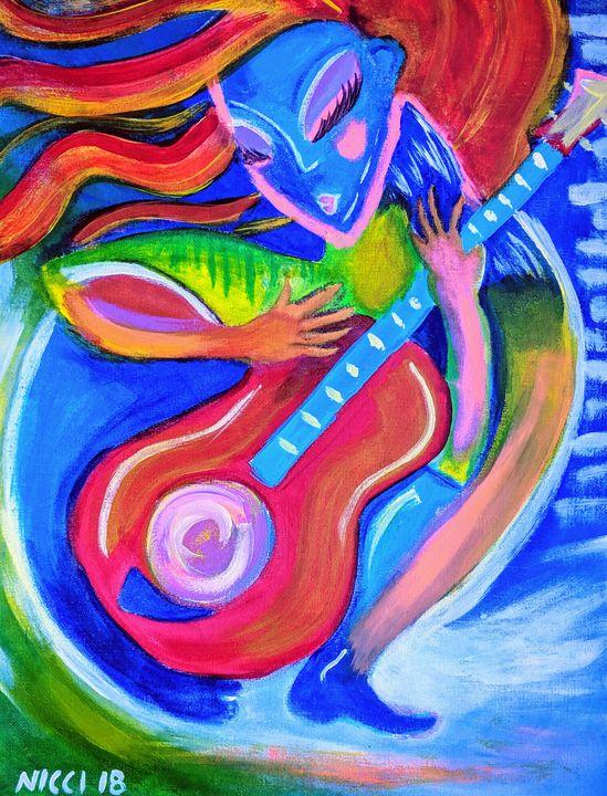 Love of music - Art Attack