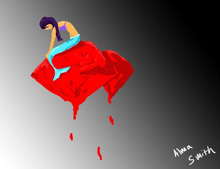 Mermaid - digi sketch