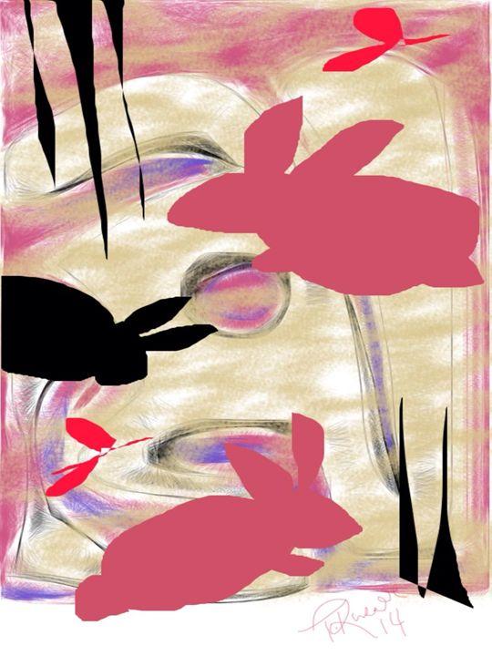 Shadow Bunnies - Trey duz art