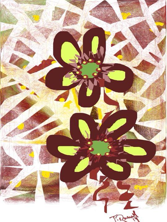 Flower Folly - Trey duz art