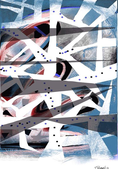 Fragmented thought - Trey duz art