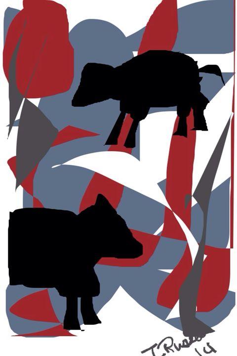 """Lambies!"" - Trey duz art"