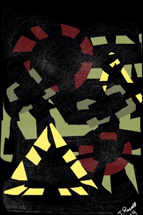 """Calculated thoughts"" - Trey duz art"