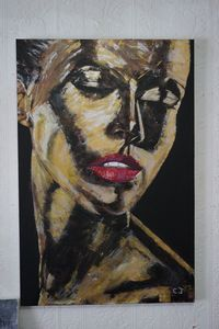 Figurative Face Abstract