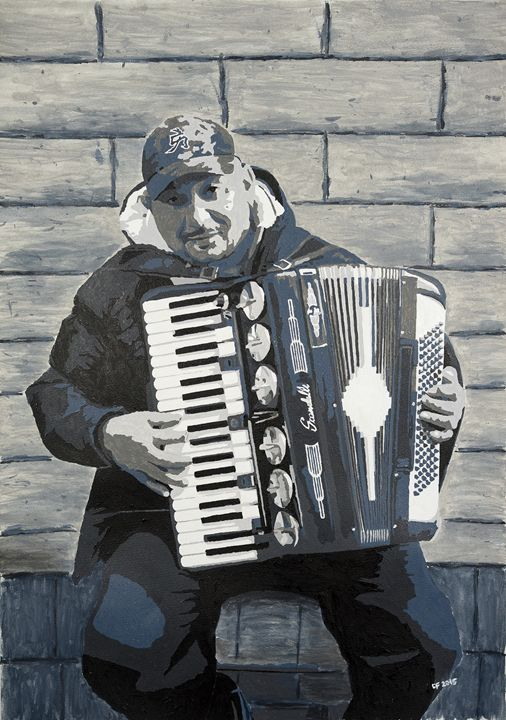 Sami and the Accordion - Mantraprint