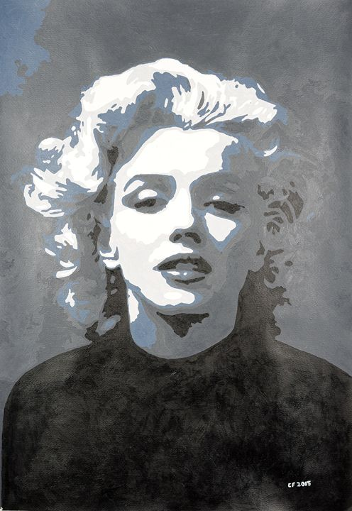Marilyn Monroe - Mantraprint
