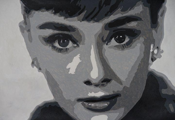 Portrait - Audrey Hepburn - Mantraprint
