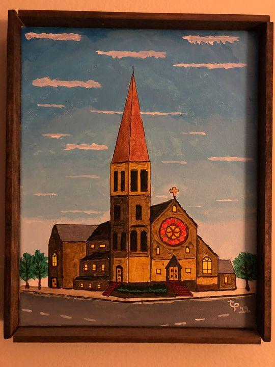Church on the corner - Poltesu