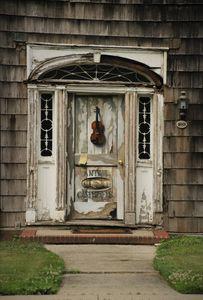 Antique Carpenter Door