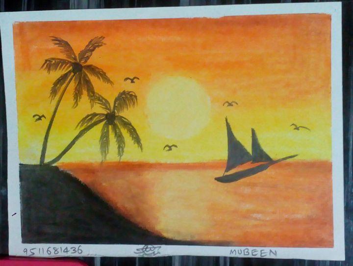 Beautiful Sunset - Mubeen Ansari