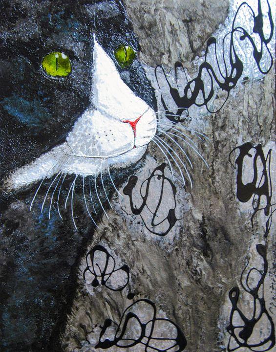 Rat-A-Tat-Cat - Charity Dawnn Art