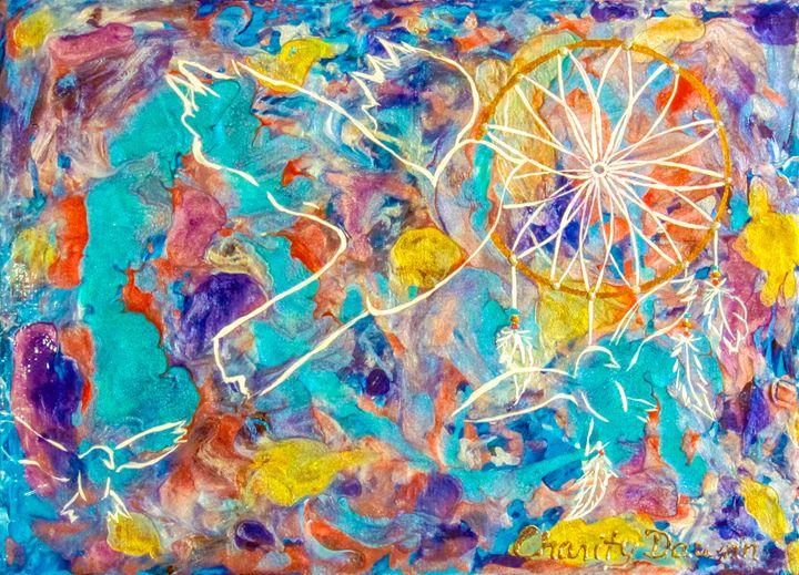 Free As a Bird - Charity Dawnn Art