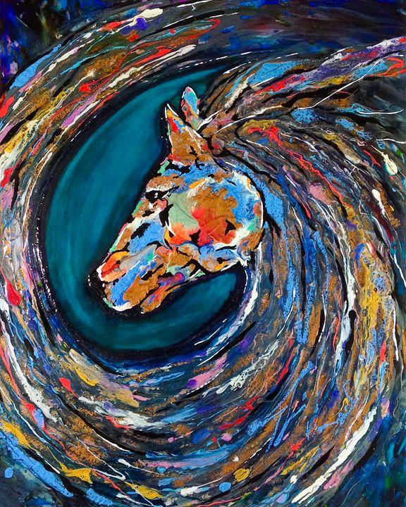 Riptide - Charity Dawnn Art