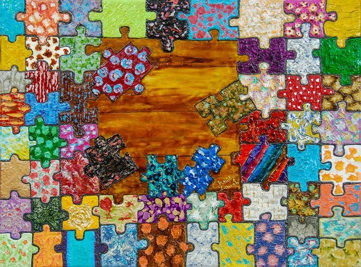 Puzzled - Charity Dawnn Art