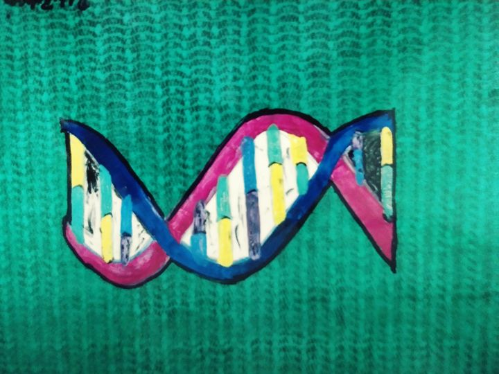 Dna matrix - Bobbys abstact art